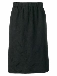 Kenzo Flying Phoenix midi skirt - Black