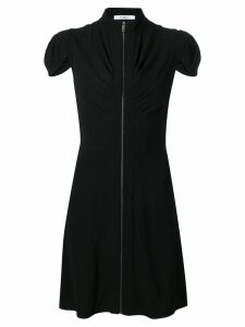 Givenchy front zipped dress - Black