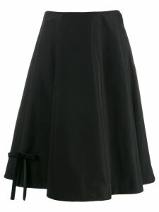 Prada A-line skirt - Black