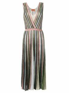 Missoni pleated knit dress - Pink