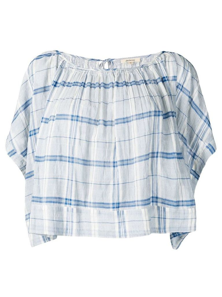 Bellerose checked loose fit blouse - Blue