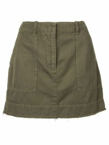 Nili Lotan Ilona mini skirt - Green