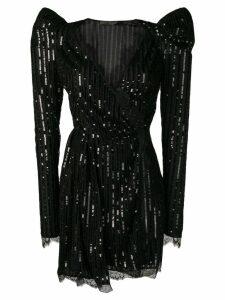 Amen sequin-embellished dress - Black
