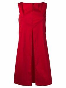 Antonelli sleeveless shift dress - Red