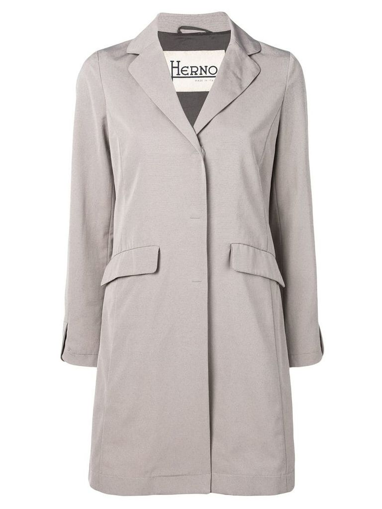 Herno classic raincoat - Grey