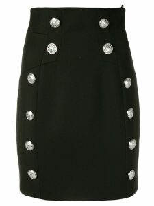 Balmain high waist pencil skirt - Black
