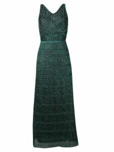 M Missoni metallic-knit maxi dress - Green