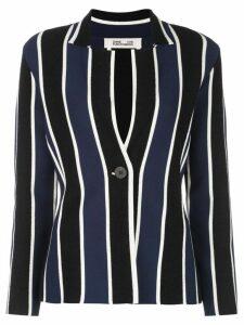 Diane von Furstenberg Ashi knit blazer - Blue