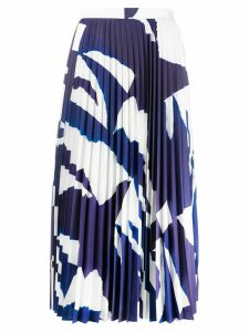 Enföld pleated midi skirt - Blue