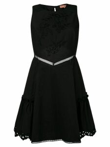 Ermanno Scervino embroidered mini dress - Black