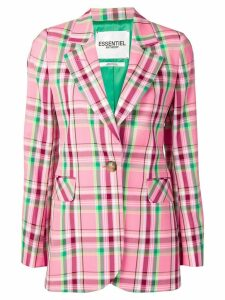 Essentiel Antwerp plaid blazer - Pink