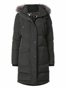 Moose Knuckles hooded padded coat - Black