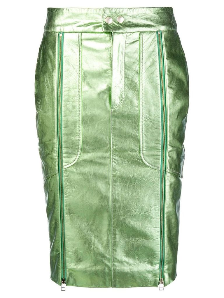 Each X Other perfectly fitted pencil skirt - Green