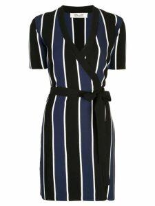 Dvf Diane Von Furstenberg Iris knit wrap dress - Black
