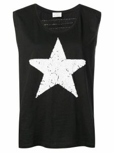 P.A.R.O.S.H. Star print vest top - Black
