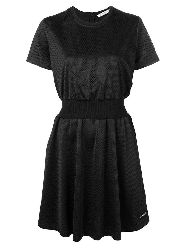 Calvin Klein Jeans fitted T-shirt dress - Black