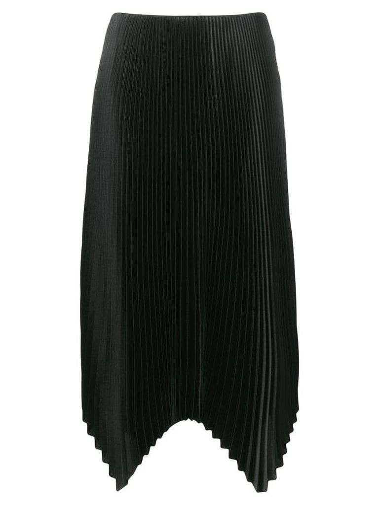 Fabiana Filippi pleated midi skirt - Black