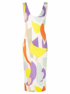 Alice+Olivia James fitted dress - Yellow