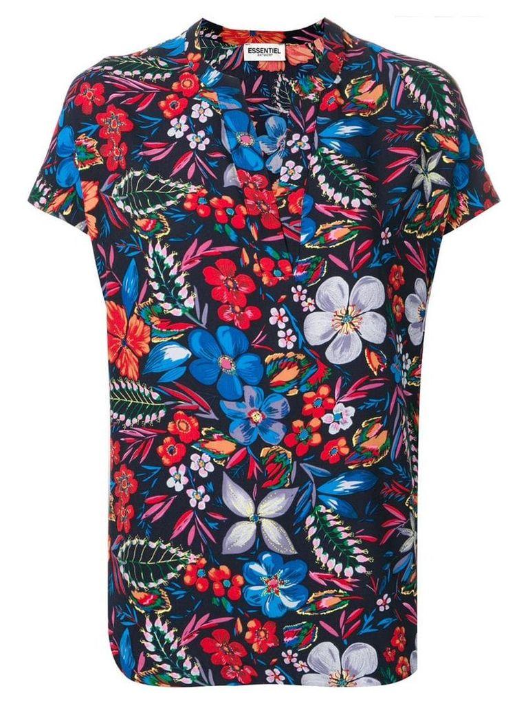 Essentiel Antwerp patterned blouse - Blue