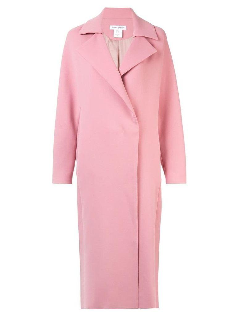 Bianca Spender Geneva long coat - Pink