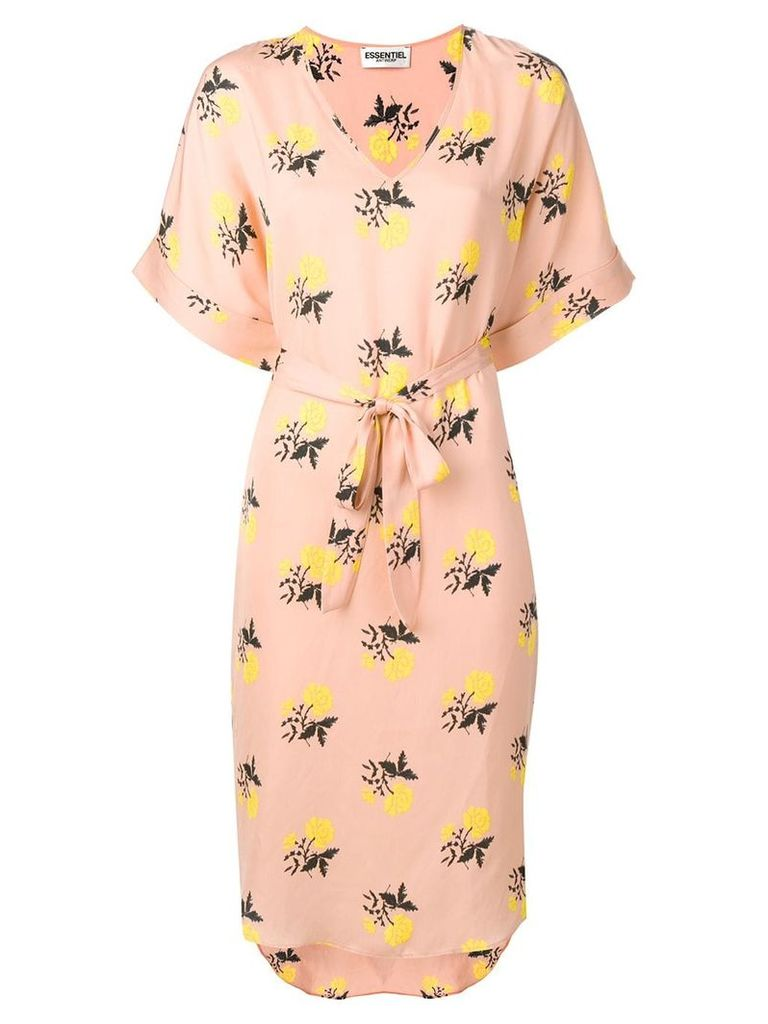 Essentiel Antwerp Seal patterned dress - Pink