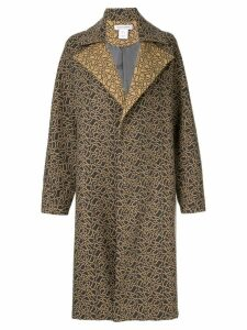 Bianca Spender Animal Paris coat - Grey