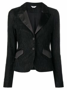 Liu Jo fitted lace blazer - Black