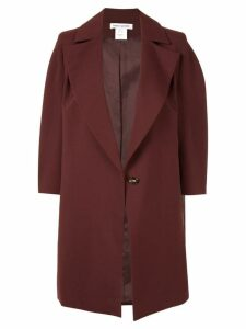 Bianca Spender Suiting Madrid coat - Red