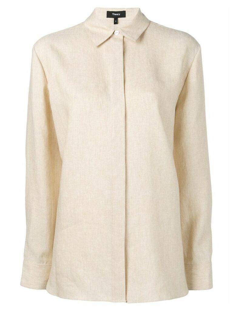 Theory classic shirt - Neutrals