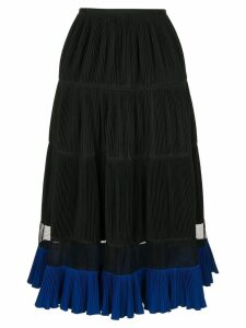 Toga pleated skirt - Black