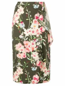 Essentiel Antwerp Silliam patterned skirt - Green