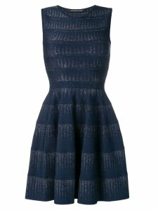 Antonino Valenti short flared dress - Blue