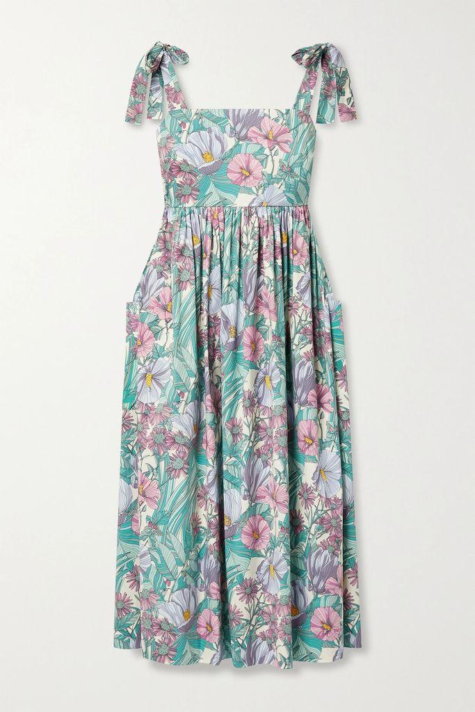 Charo Ruiz - Arca Cropped Cotton-blend Lace Top - Black