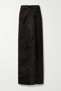 Figue - Indiana Tasseled Printed Cotton Midi Dress - Blue