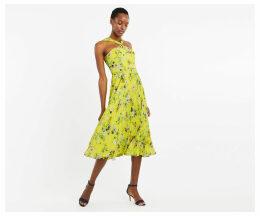 Daisy Haze Twist Neck Dress