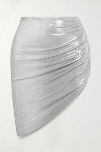 Erdem - Margo Floral-print Satin Midi Dress - Blue