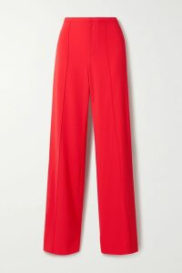 Yvonne S - Tiered Printed Cotton-voile Dress - Lavender
