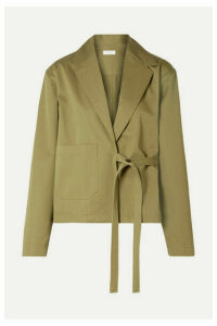 Deveaux - Keaton Cotton-twill Blazer - Army green