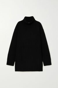 Elie Saab - Embroidered Swiss-dot Tulle Gown - Black