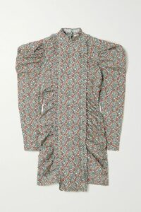 Rodarte - Embellished Tulle Midi Dress - Blush