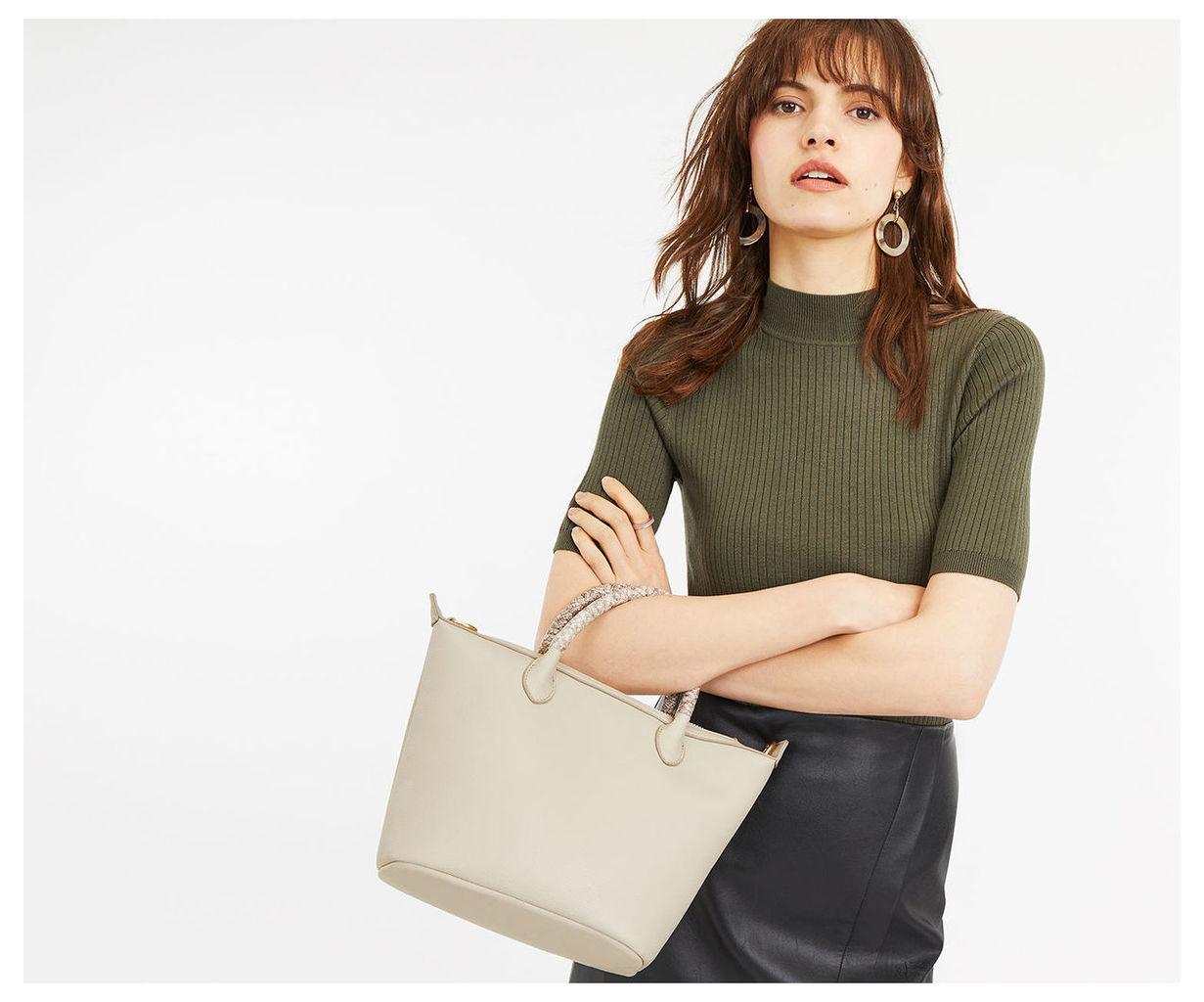 Ella Snake Handle Bag