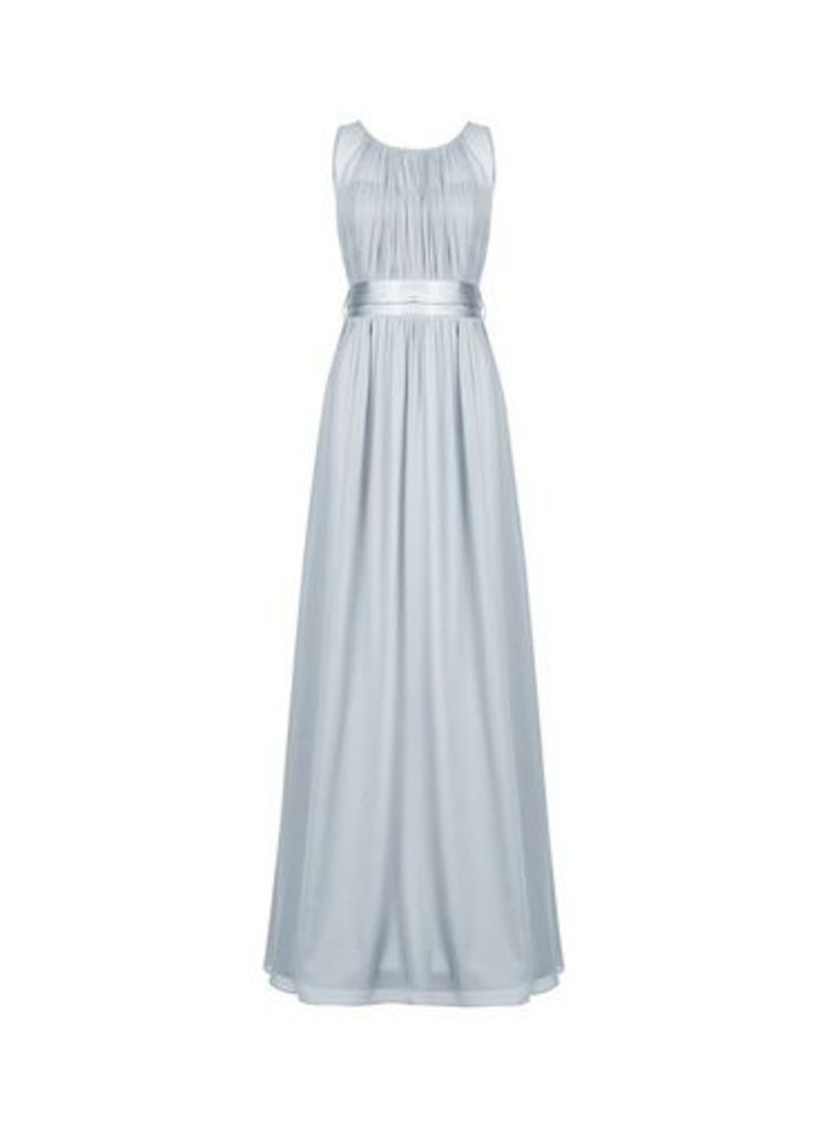 Womens **Showcase Tall Blue 'Natalie' Maxi Dress- Blue, Blue