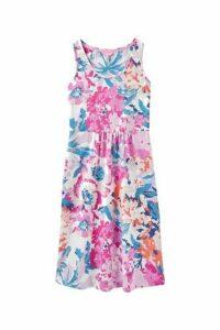 Womens Joules Pink Gabriella Sleeveless Jersey Dress -  Pink