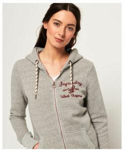 Superdry Rylee Embroidered Zip Hoodie