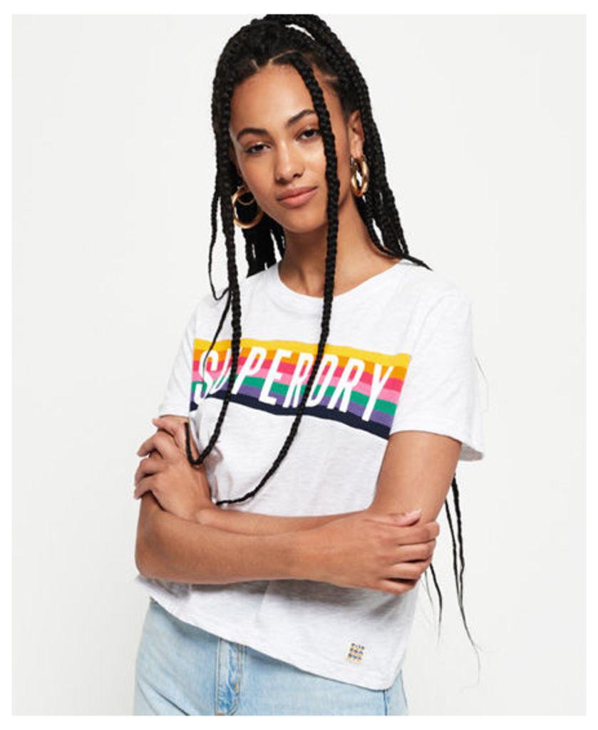 Superdry Rainbow Graphic T-Shirt