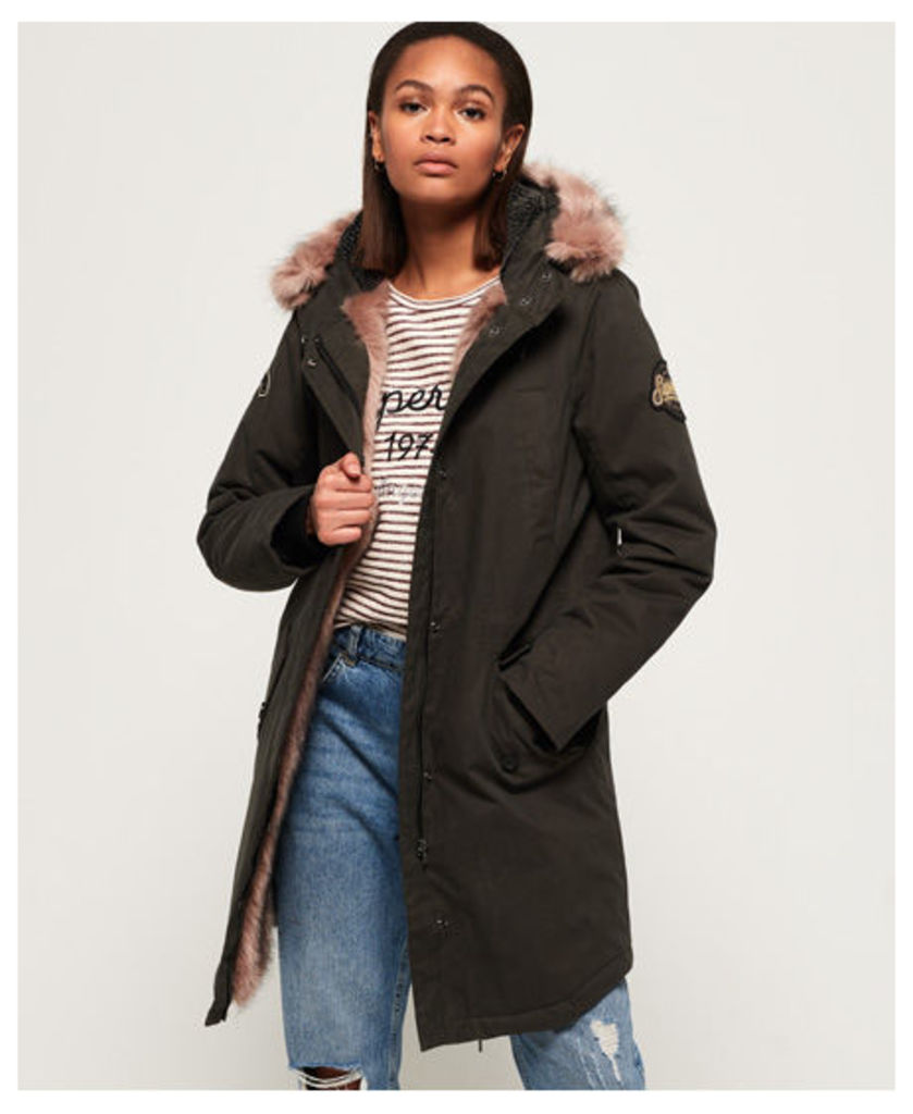 Superdry Frankie Faux Fur Lined Parka Jacket