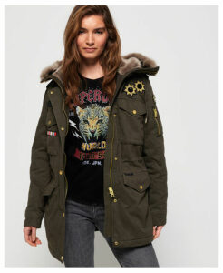 Superdry Rookie Rock Royalty Parka Jacket