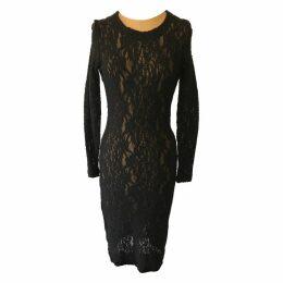 Lace mid-length dress