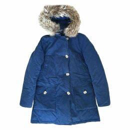 Blue Cotton Coat