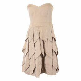 Wool mid-length dress